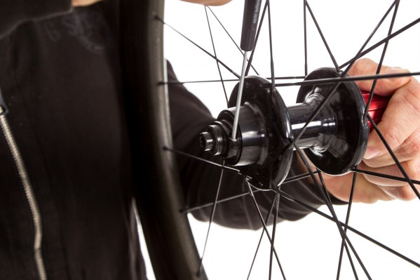 ... and repeat this process on the rear wheel