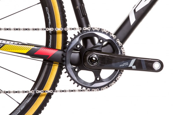 CX1 crankset with 42t