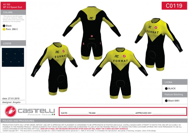 Body Paint Speedsuit LS 3.0