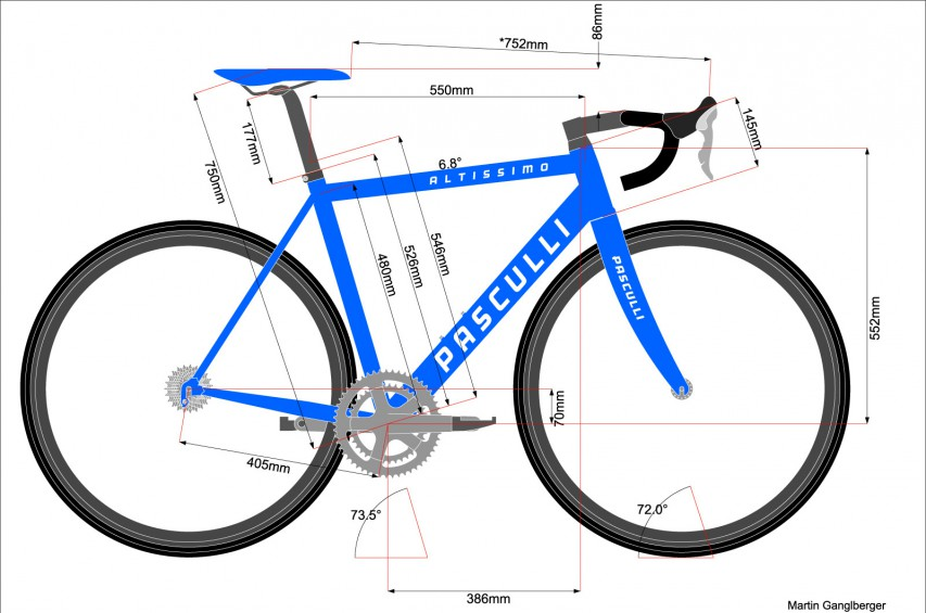 Desired geometry: Scott Addict in 54 with a flat 72° head angle.