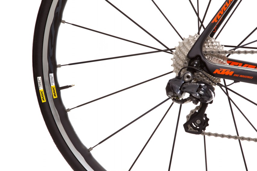 Hot stuff: full Ultegra Di2 groupset….